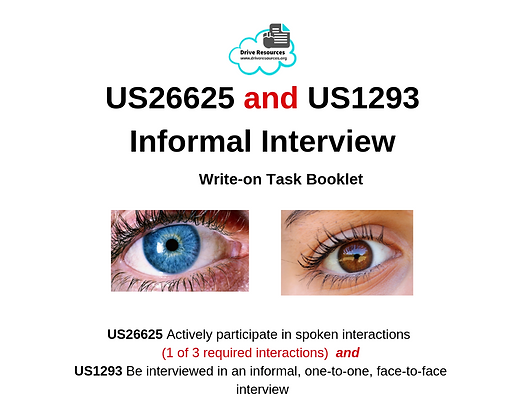 US26625 and US1293 - Informal Interview - Blues and Browns