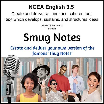 3.5 Oral Text - Smug Notes