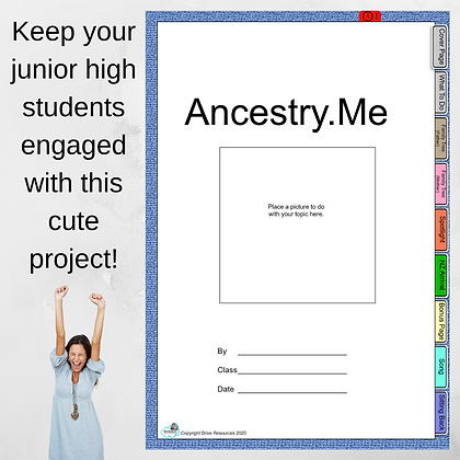Junior Secondary Project - Ancestry.Me