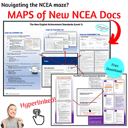 New NCEA standards - a map to show teachers the documents they need and where to find them