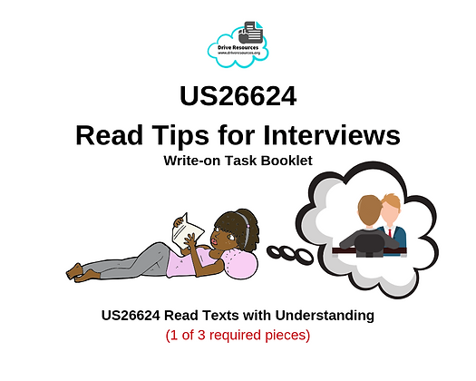 US26624 Reading - Interview Tips - Work It