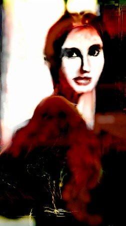 _CLARA_digital painting made in 90'