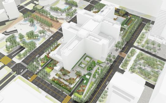 臺北市市政大樓周遭景觀設計