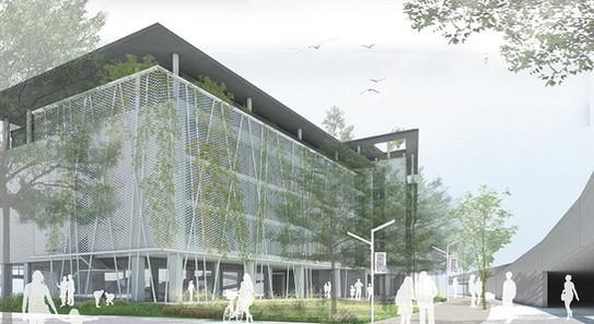 北科校園景觀設計