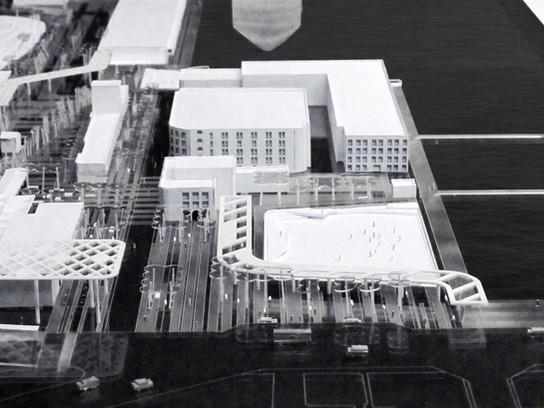 山層.軌基-基隆火車站北站 廣場景觀設計