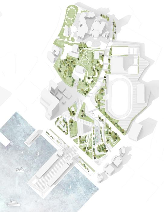 嶼港之丘-澎湖第三國際廣場景觀規劃