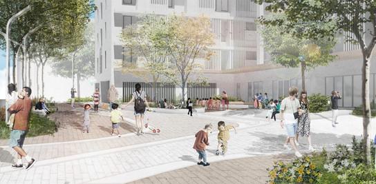 台北市萬華福民公宅景觀設計