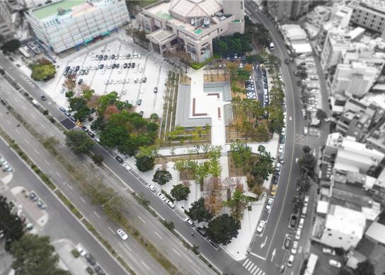 綠.縫合-新竹演藝廳廣場