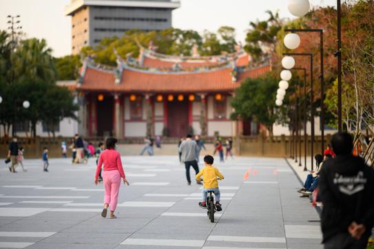 新竹公園孔廟廣場