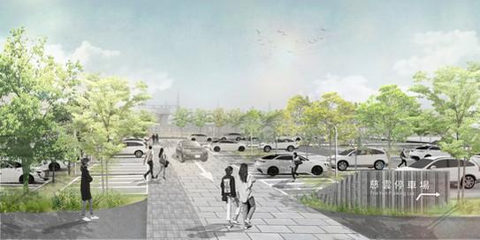新竹慈雲停車場景觀設計