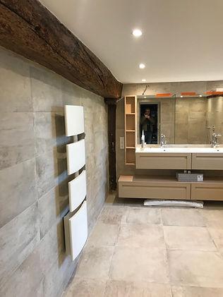 Nouvelle salle de bain, DME batiment renovation complète