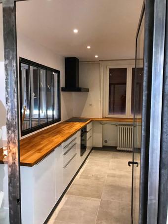 Rénovation d'appartement à Oullins.