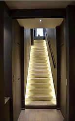 Magnique escalier lumineux Lyon