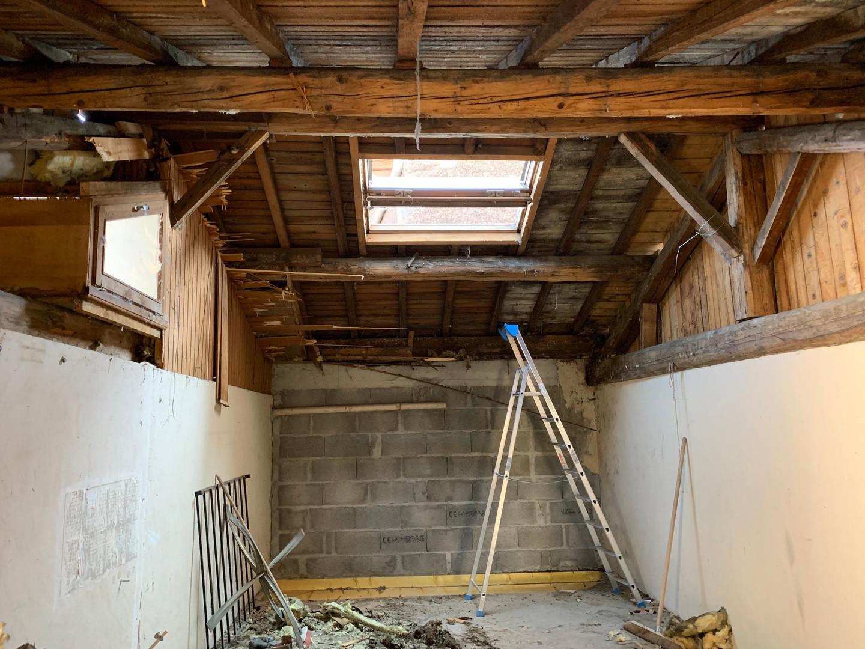 Avant rénovation d'appartement