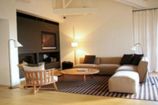 Rénovation par DME Batiment, Salon Scandinave, entreprise générale Lyon, rénovation maisons appartements bureaux