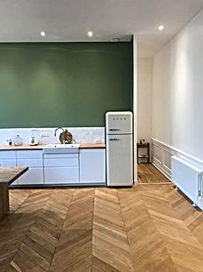 Après rénovation, réalisation d'un appartement de 72 m2 à Lyon