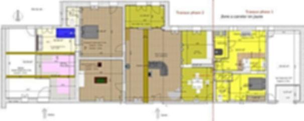 Rénovation maison Servignat 01: Plan