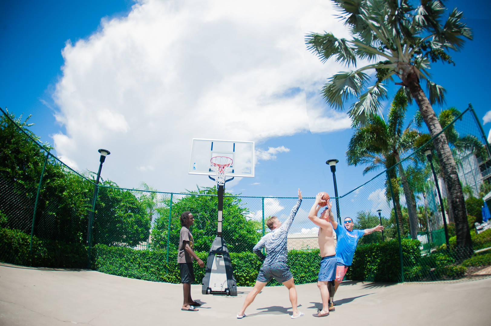 We Have A Full Court Basketball Court