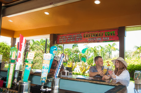 Enjoy A Meal & A Drink At Our Tiki Bar