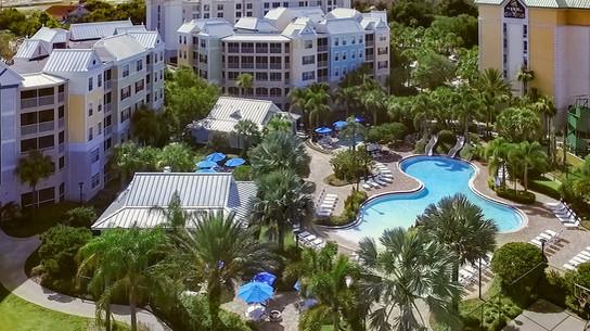 Calypso Cay Drone View