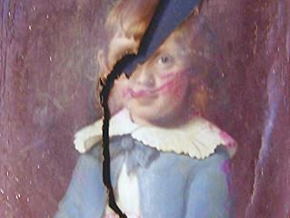 Tragedy Strikes- Fogg Art Restores