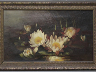 It Takes A Delicate Hand to Refresh A Vintage Painting