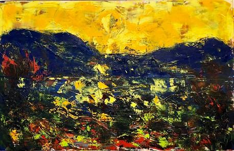 Landschaft aus Istrien