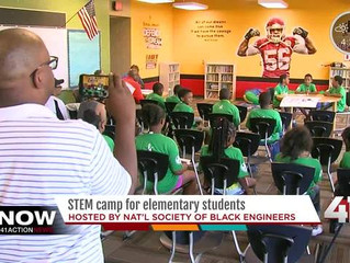 National Society of Black Engineers host Kansas City summer camp to promote careers in STEM