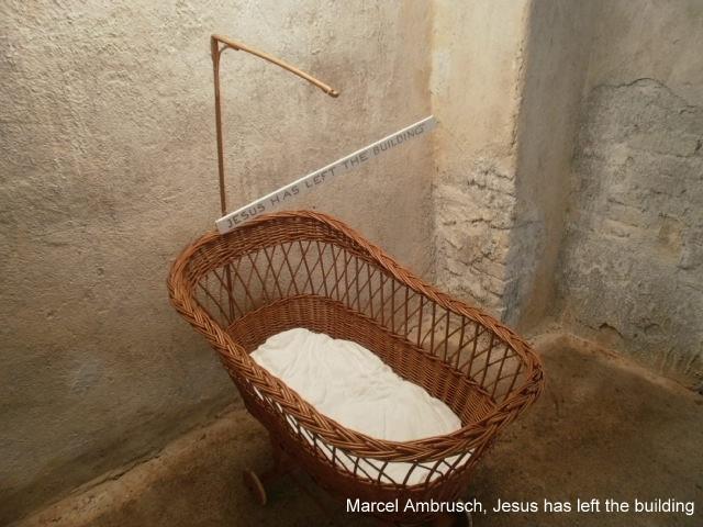 B Marcel Ambrusch,,  Jesus has left the.