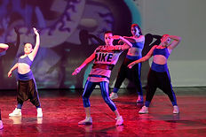 Dance scenography directed by Dance School Art Dance Academy