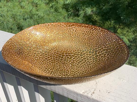 Gold Snake Bowl