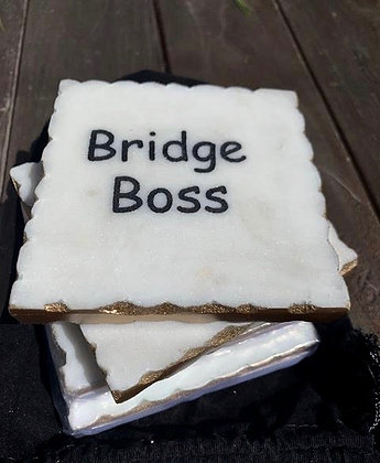 Bridge Coasters- Set of 4