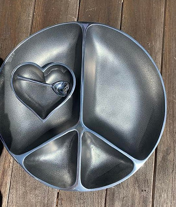 Peace & Love Serving Bowl