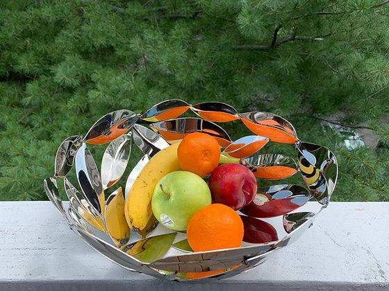Round Leaf Artisan Bowl