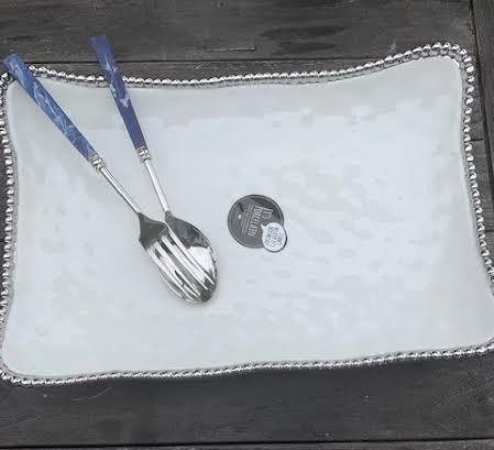 Deep and Long Serving Platter