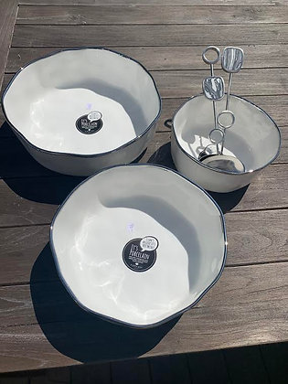 Semi-Round Bowls in 3 Sizes