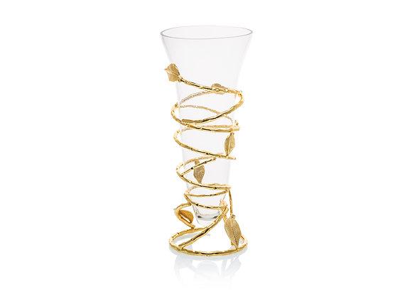 Extra Large Gold Vase