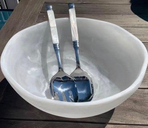 Resin Salad Bowl