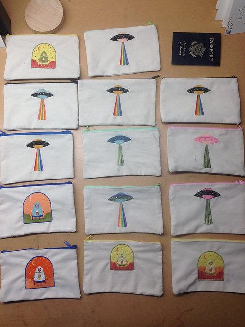 UFO Pencil bags