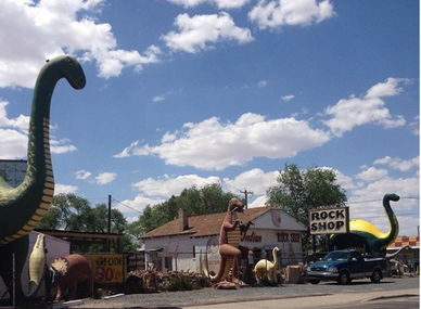 dino inspo pic: Arizona road trip!