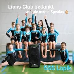 Geluid voor SSS Lopik van de Lions
