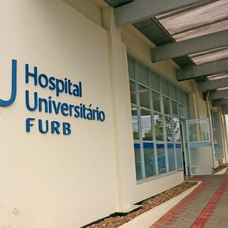 Atendimento Rápido Covid-19 do bairro Fortaleza será transferido para Hospital Universitário da Furb