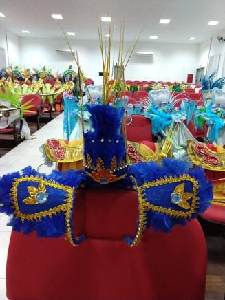 Porto Belo reutiliza materiais e fantasias para Desfile de Carnaval