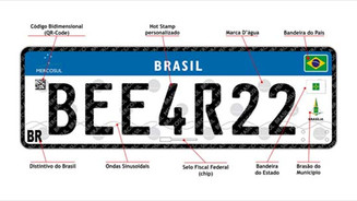 Pit Stop: Novas placas do Mercosul deverão entrar em circulação a partir de setembro