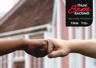 Itajaí lança campanha de combate ao racismo