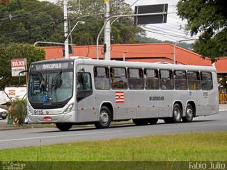Linhas do transporte coletivo de Blumenau circulam parcialmente nesta quarta