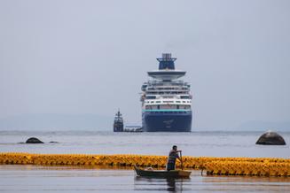Verão União: Mais um transatlântico vai ancorar em Balneário Camboriú nesta sexta-feira