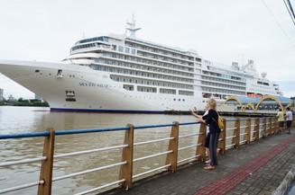 Último navio da temporada atracará em Itajaí nesta quarta-feira