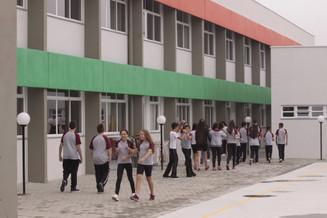 Alunos voltam às aulas na rede estadual de Santa Catarina