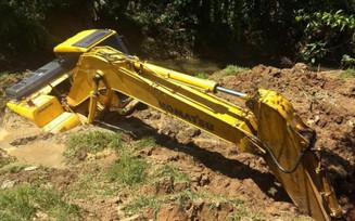 Desassoreamento no Ribeirão Salto do Norte é adiado